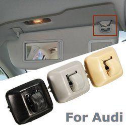 Batin Sun Visor Hanger Hook Klip Bracket Cocok untuk Audi A1 A3 A4 A5 Q3 Q5 2013-2015 8E0857562A 8E0857562