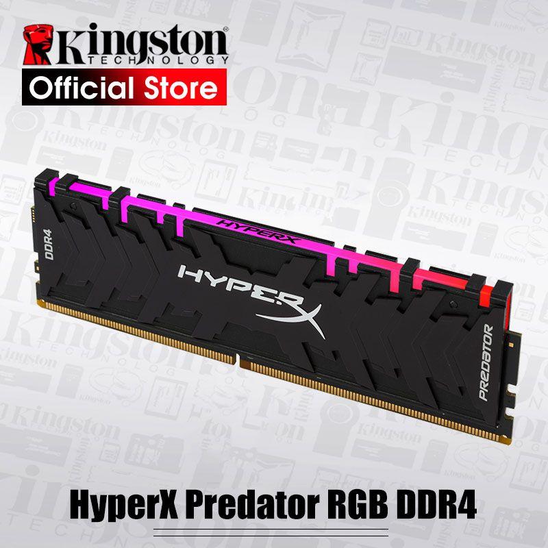 Kingston HyperX Predator RGB 8GB 3000MHz DDR4 CL15 DIMM 288-pin XMP Memoria Ram ddr4 Desktop Memory Rams for Computer Games Ram