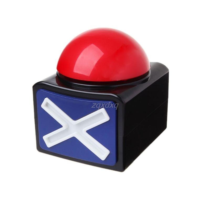Game Answer Buzzer Alarm Button With Sound Light Trivia Quiz Got Talent Buzzer  O05 dropship