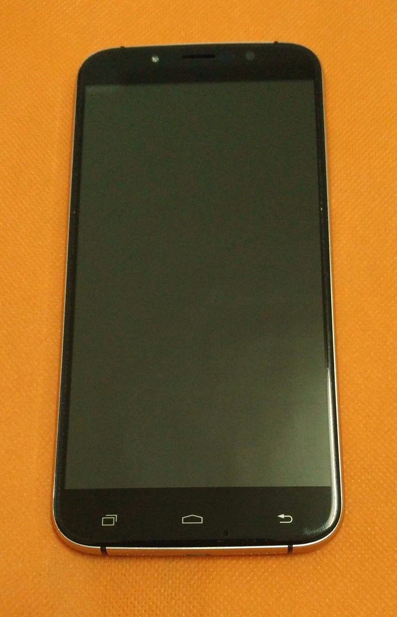 Used Original LCD Display +Digitizer Touch Screen+ Frame for UMI Rome X MTK6580 5.5 inch 1280x720 HD Quad Core Free shipping
