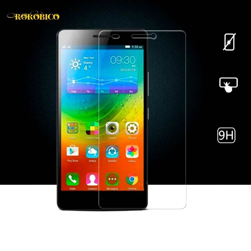 For Lenovo K3 A6000 K3 Note A7000 K4 Note A7010 K5 K5 Plus K5 Note Tempered Glass Film Explosion-Proof Screen Protector Case