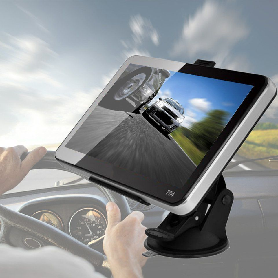 Professional New Car-Styling 7'' Car Truck GPS Navigation+Wireless Rearview Camera Bluetooth 4GB US Map For Automobiles Hot