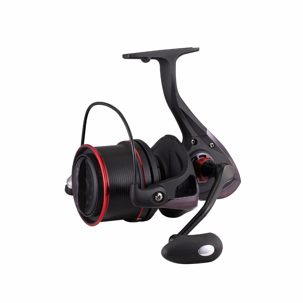 Hiumi TP Série Saltwater Spinning Reel-12 + 1 Acier Inoxydable Blindé Roulements Finition De Cuisson Corps 4.1: 1 Gear Ratio