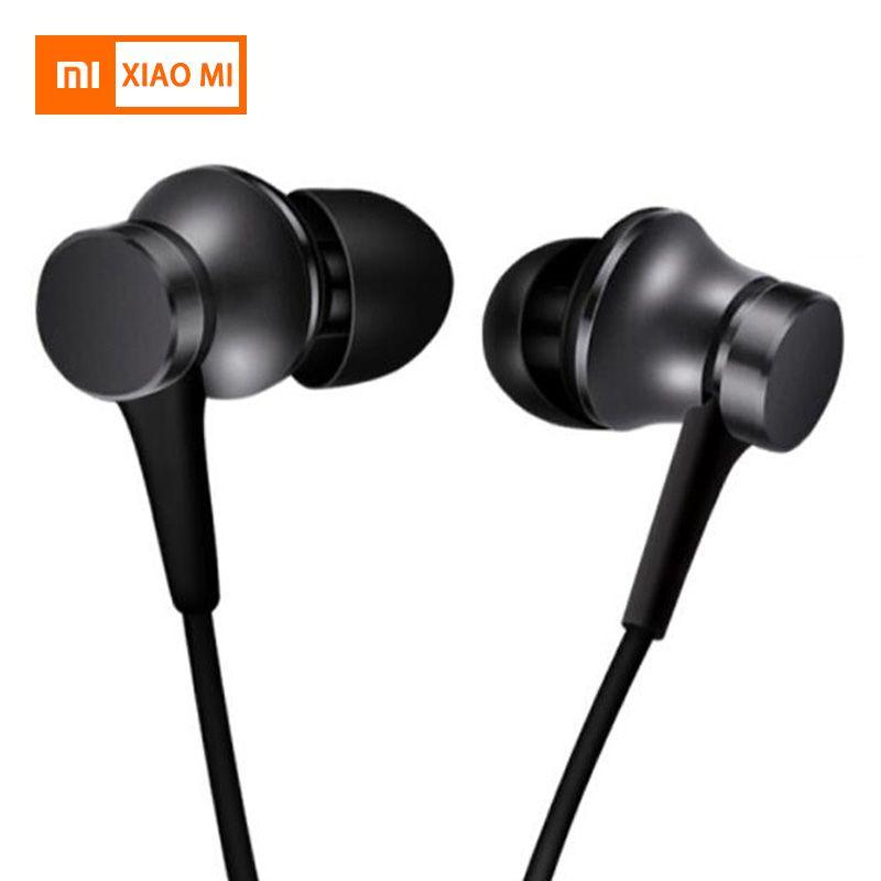 Original Xiaomi Earphone Mi Piston 3 Fresh Version In-Ear with Mic Wire Control for mobile phone xiaomi earphones headset