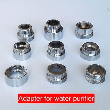 1 pc Chrome En Laiton Robinet Aérateur Adaptateur Mâle Femelle M22 M24 G1/2