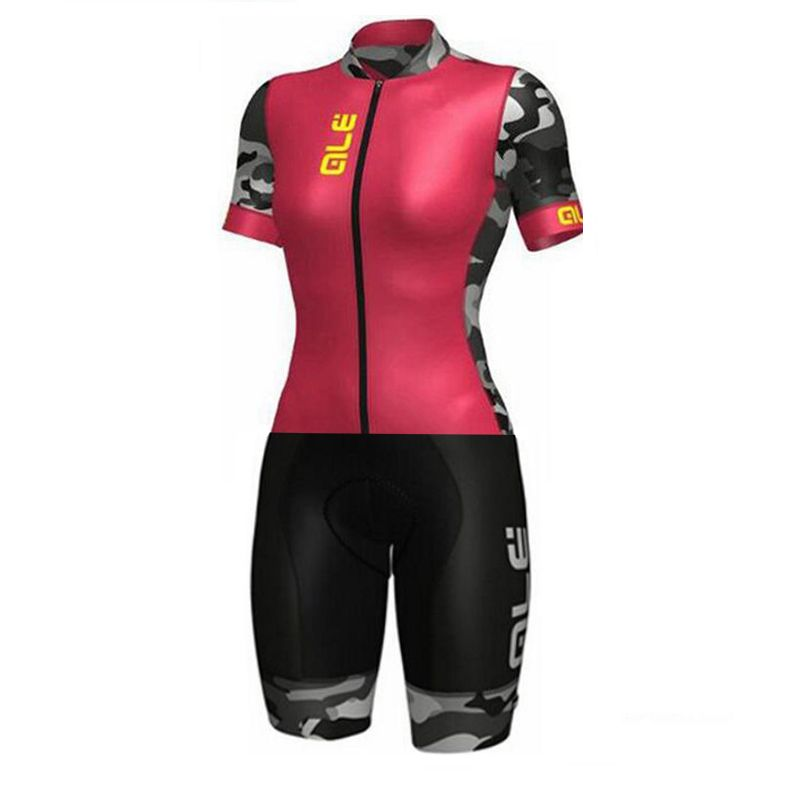 2018 New Hot Ale Skinsuit Cycling Clothing One Piece Bodysuit Ropa Ciclismo MTB Bike Clothing Women Outdoor Wear