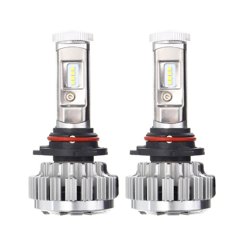 2pcs H1 H4 H7 H11/H8 9006 Auto Car LED Headlight Bulbs High/Low Beam Headlamp 6000K Xenon White 252W DC9-32V