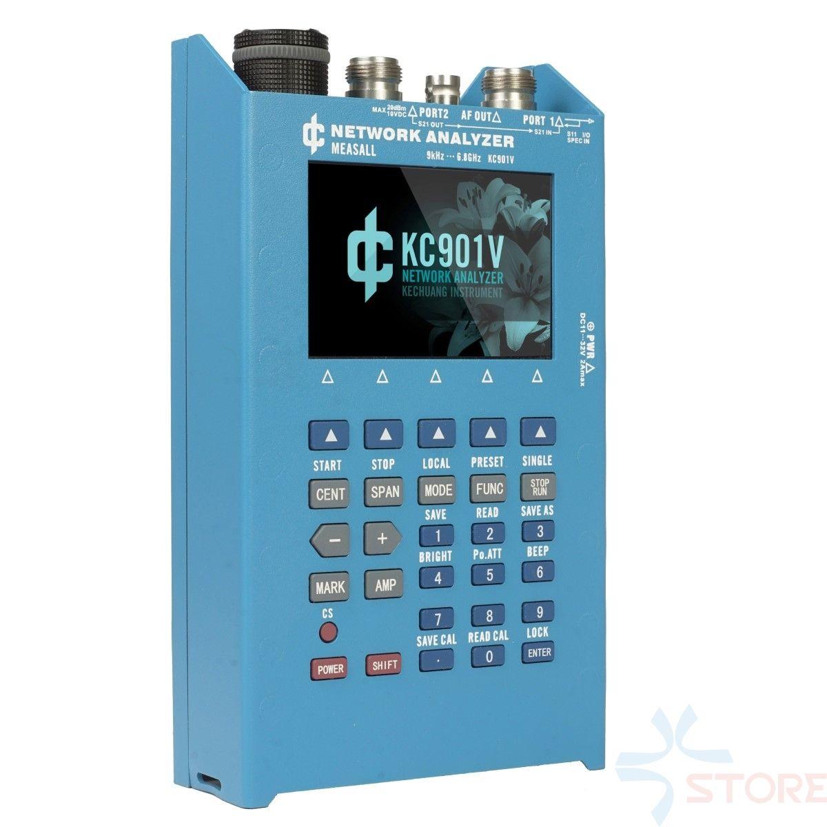 KC901V 6.8GHz Handheld Network Analyzer RF multimeter vector network analyzer day feeder analysis