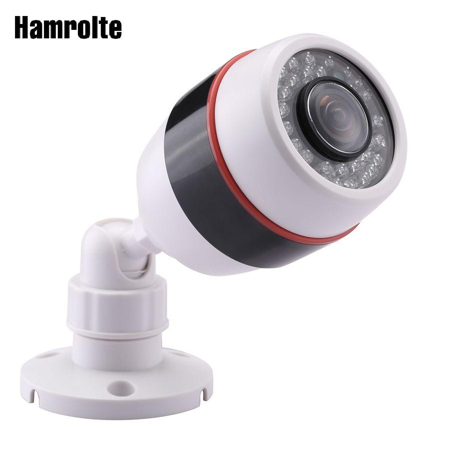 Caméra IP panoramique Hamrolte 1080 P Hi3516E 20fps 5MP 1.7 objectif FishEye grand Angle caméra de sécurité extérieure détection de mouvement Xmeye
