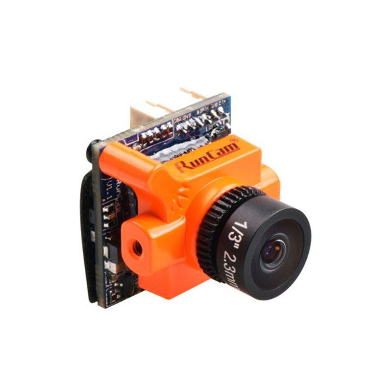 RunCam Micro Swift 2 600TVL 2.1mm/2.3mm FOV 160/145 Degree 1/3'' CCD FPV Camera with Built-in OSD