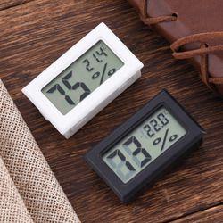 Mini Digital LCD Indoor Convenient Temperature Sensor Humidity Meter Thermometer Hygrometer Gauge Brand 2017 New