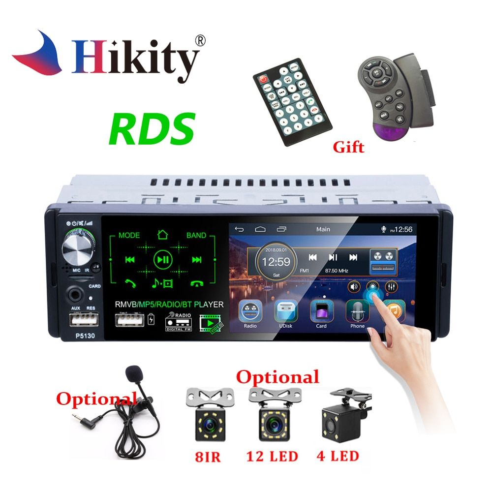Hikity Autoradio1 din Car Radio 4.1
