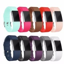 LNOP Watch strap for fitbit charge 2 band Silicone Sport bracelet belt replacement wristband For Fitbit charge2 heart rate watch