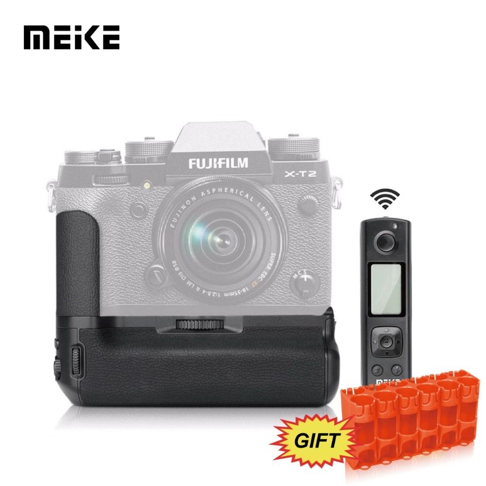 MEKE Meike MK-XT2 Pro Multi-Power Battery Grip Pack With Wireless Remote Control For Fujifilm X-T2+GIFT