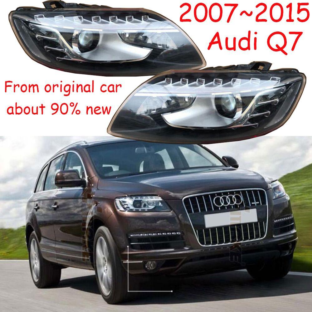1 stücke, 2007 ~ 2015, Auto Styling, Q7 Scheinwerfer, auto zubehör, Q7 Nebel lampe, von der ursprünglichen auto, 90% neue, haben fehler, Q7 tagsüber licht