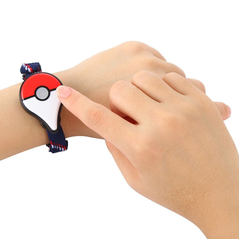 Compatible Bluetooth Bracelet For Pokemon GO Plus Wristband Bracelet Device For IOS For Android Interactive Figure Toy