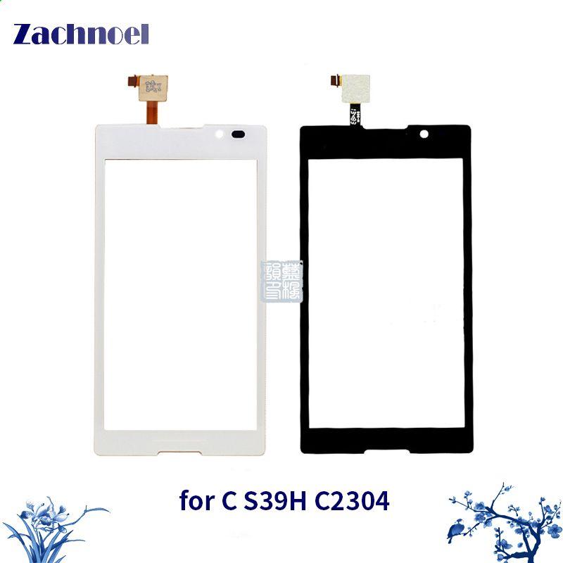 Zachnoel 5.0 ''Tactile pour Sony Xperia C C2304 C2305 S39H S39C Écran Tactile Digitizer Lentille Du Capteur Avant Panneau de Verre remplacement