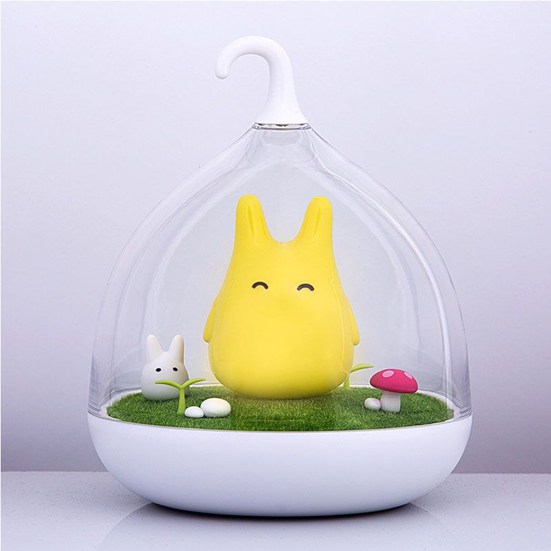 Night Light Newest Style The Totoro USB Portable Touch <font><b>Sensor</b></font> LED Baby Nightlight Bedside Lamp Touch <font><b>Sensor</b></font> Night Lamp For Kids