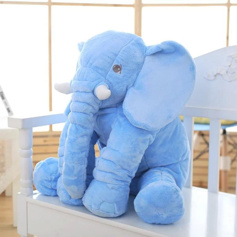 VIP LINK 40 cm/60 cm (40 cm + 60) hauteur grande peluche éléphant poupée jouet enfants dormir dos coussin mignon éléphant en peluche bébé