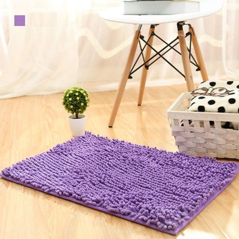 80*120 cm Bad Matten Große Dicken Chenille Teppich Fußmatte Rutschfeste Matte Küche Bad Super Saugfähigen Schlafzimmer matten Kundenspezifische