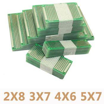 20 шт./лот 5x7 4x6 3x7 2x8 см double side прототип DIY Универсальный печатные платы печатную плату для Arduino