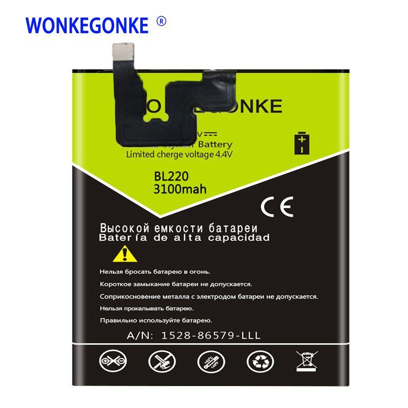 WONKEGONKE BL 220 BL220 Battery for Lenovo S850 S850T Batteries Bateria