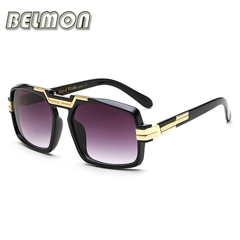 Fashion Sunglasses Women Men Luxury Brand Designer Sun Glasses Bige Frame For Ladies UV400 Female Male Oversized Oculos RS071