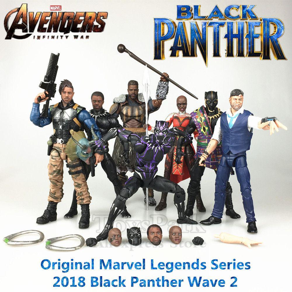 Marvel Legends Schwarz Panther Film 6