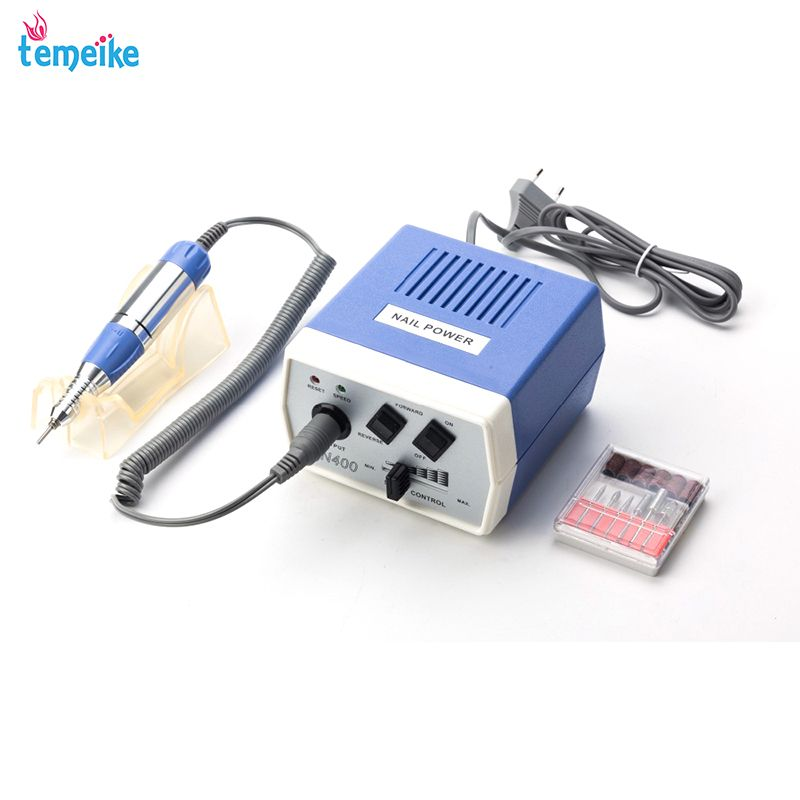 35W EN400 Pro Electric Nail Drill Machine Nail Art Equipment Manicure Pedicure Files Electric Manicure Drill & Accessory
