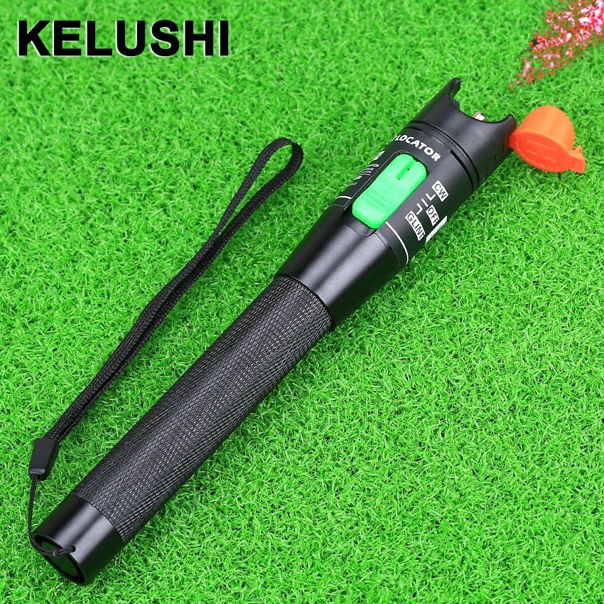 KELUSHI le Simple prix préférentiel lumière Laser rouge 30 MW localisateur de défaut visuel, testeur de câble à Fiber optique plage de 30Km