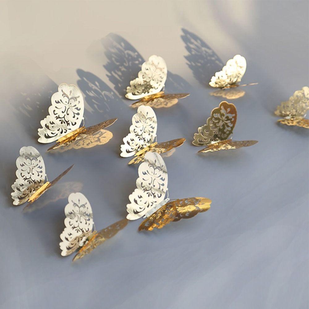 Papier créatif 3D papillon décoration murale 14409