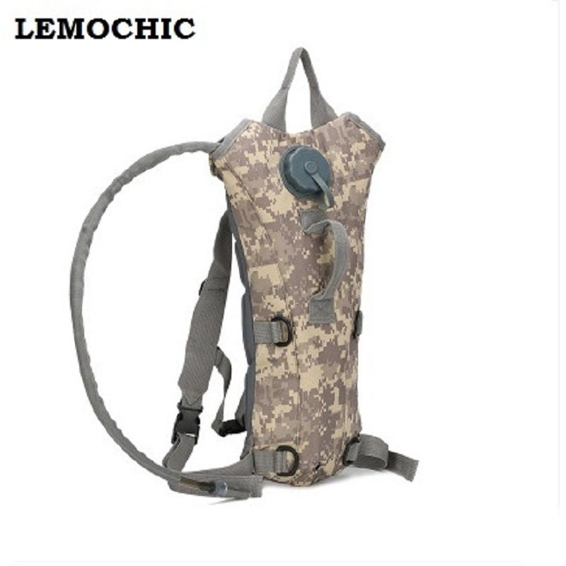 Flasche pouch taktische kamp malzemeleri trink Hohe qualität rucksack wasser tasche camping camelback fahrrad mochila de Trink