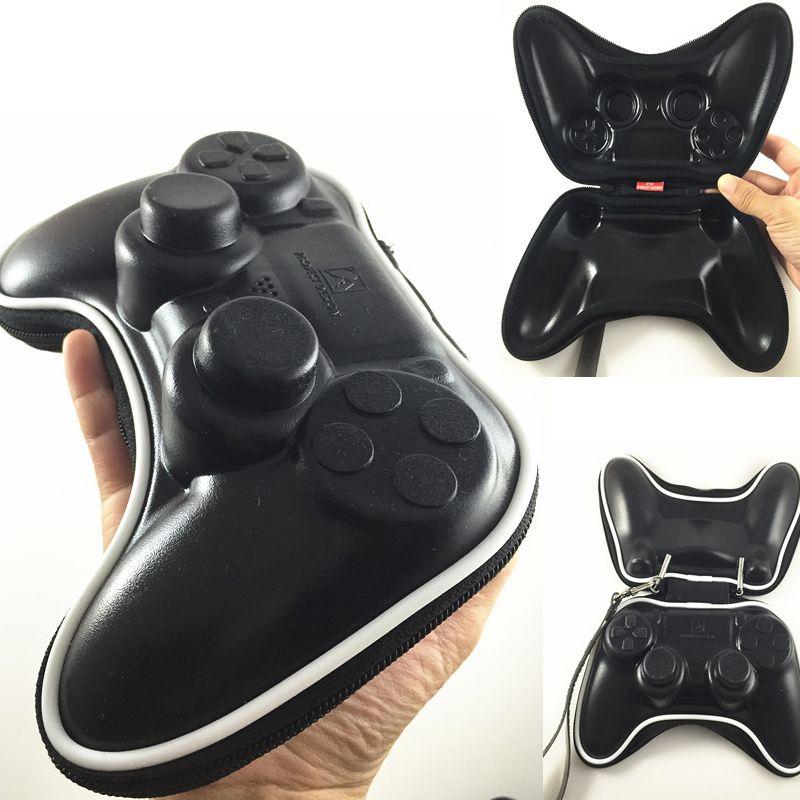 Mise à jour en plastique Souple 3D Renforcée Antichoc De Transport Poche Poche Sac Dur Pack pour PlayStation 4 PS4 Contrôleur