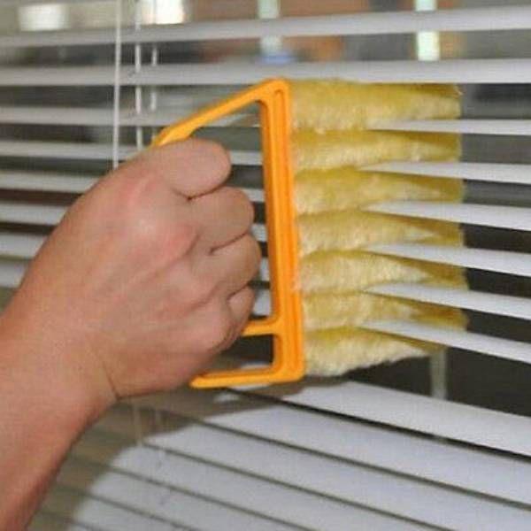Микрофибра жалюзи стеклоочистителя очиститель окна Кондиционер Duster чистой щеткой-39