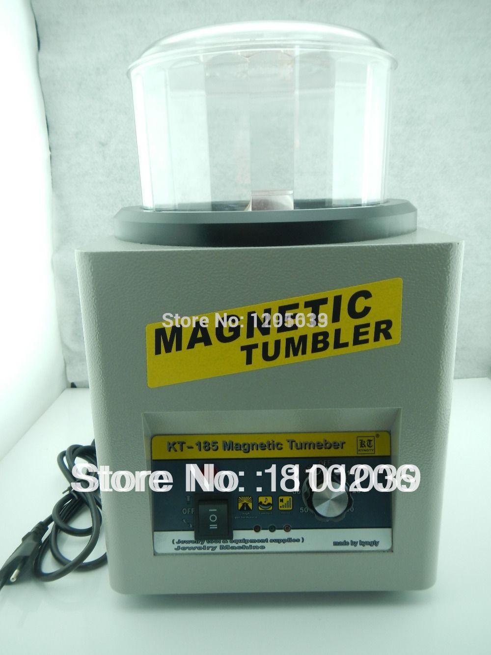 2016 KOSTENLOSER VERSAND schmuck tumbler T185 Magnetic Tumbler 16 cm Schmucksache-poliersuperfinish