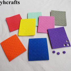 1 Tas/LOT.5mm Bulat Mosaik Stiker Permainan Puzzle TK Seni dan Kerajinan DIY Mainan Belajar Warna OEM Ulang Tahun hadiah