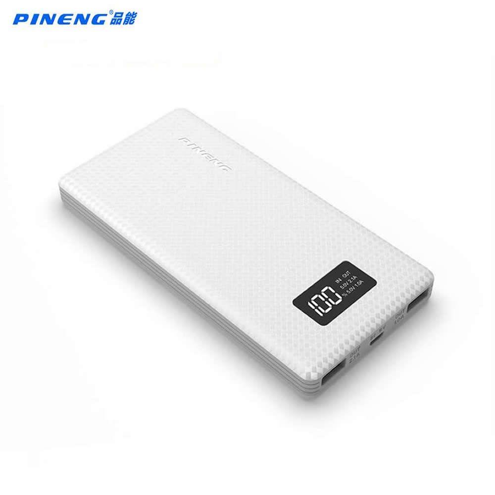 D'origine Pineng Puissance Banque 10000 mah PN-963 Batterie Externe Powerbank 5 V 2.1A Double Sortie USB pour les Téléphones Android comprimés