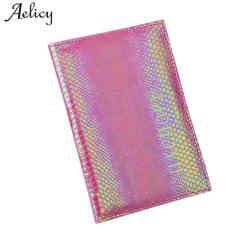 Aelicy Обложка для паспорта кожаный женский Дорожный Чехол на паспорт кожаный протектор обложка паспорта кошелек
