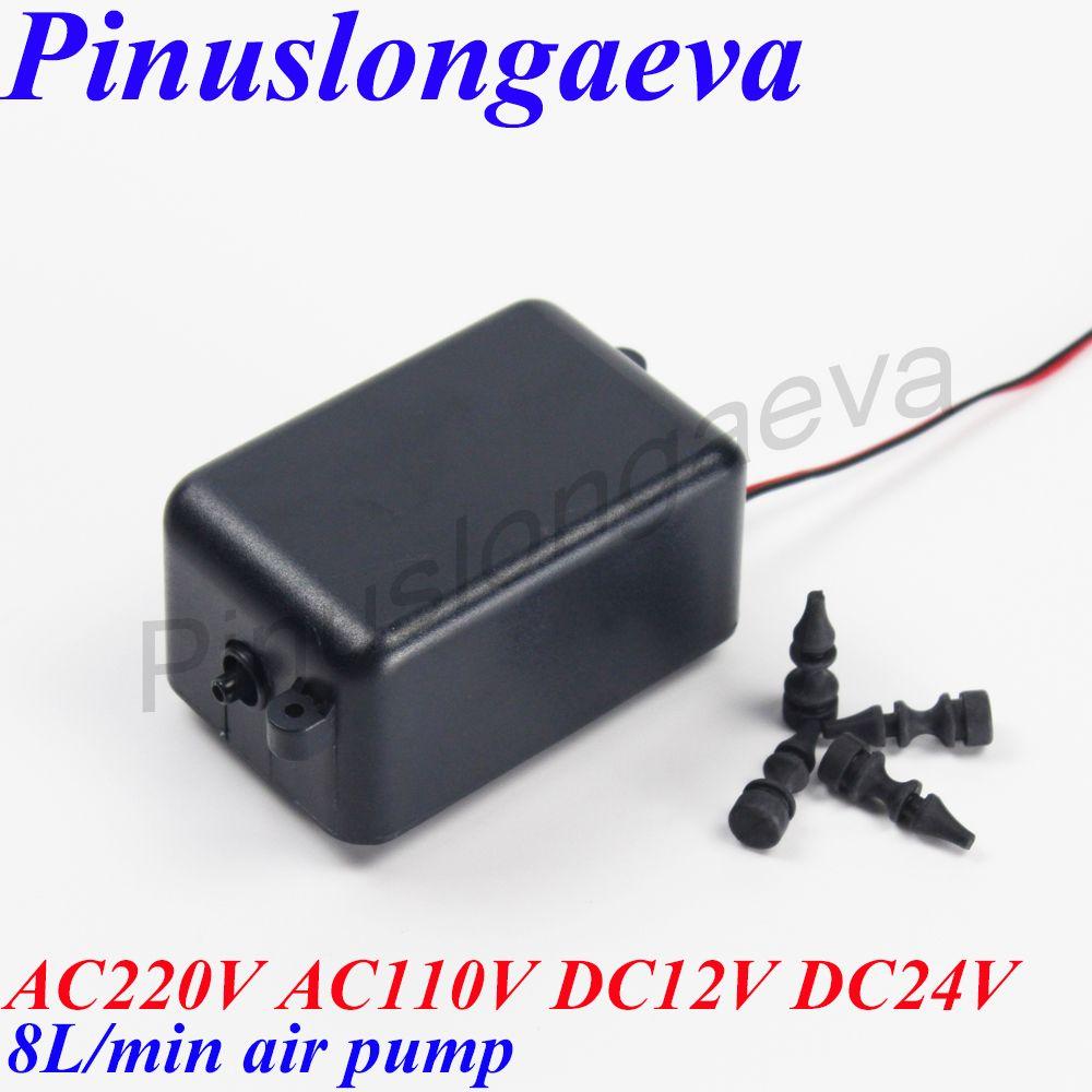 Pinuslongaeva 4 8 15 20 25L/min aquarium d'ozone pompe à air générateur d'ozone pièces à faible bruit pompe à air pour SPA pompe à air compresseur