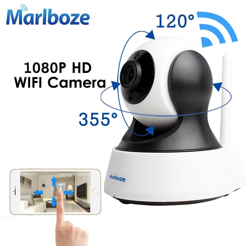 Marlboze 1080P HD Wifi IP Camera Wireless CCTV Home Security Surveillance Camera IR Night Vision Baby Monitor <font><b>Indoor</b></font> Camera