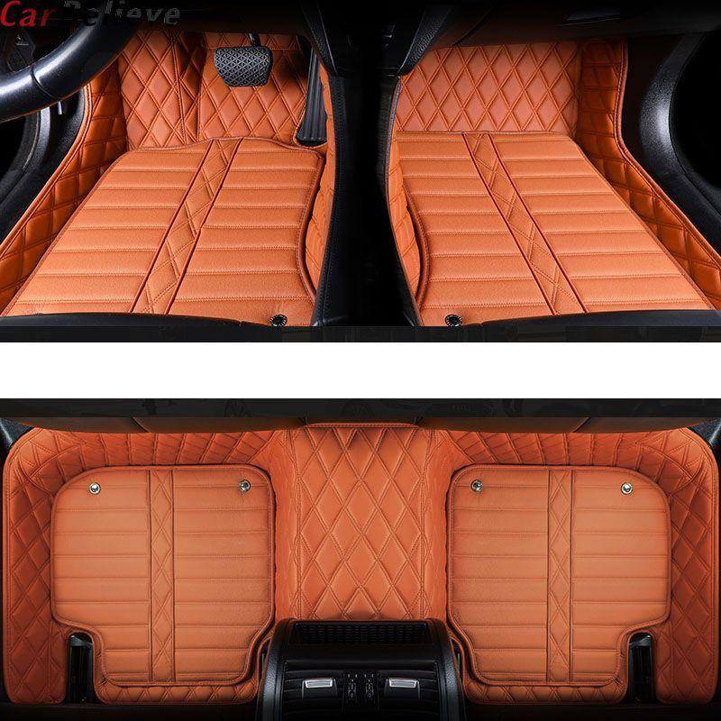 Auto Glauben Echtem Leder auto boden matte Für lexus gs nx gx470 ct200h rx lx570 ist 250 rx330 nx300h zubehör teppich teppiche