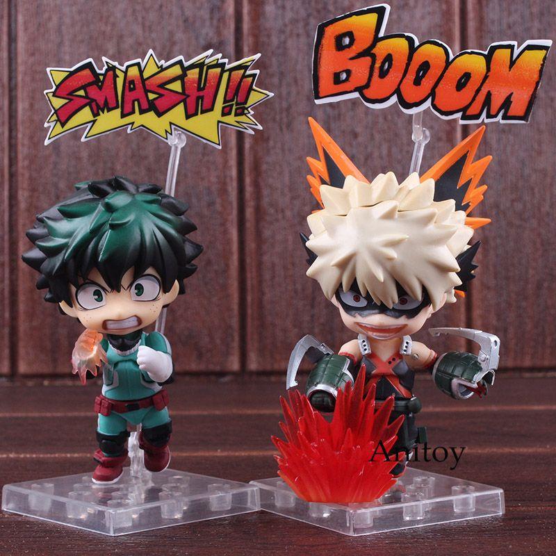 Figurine My Hero Academia Bakugou Katsuki & Midoriya Izuku Nendoroid 686 / 705 PVC Boku No Hero Academia Figure Collectible Toy