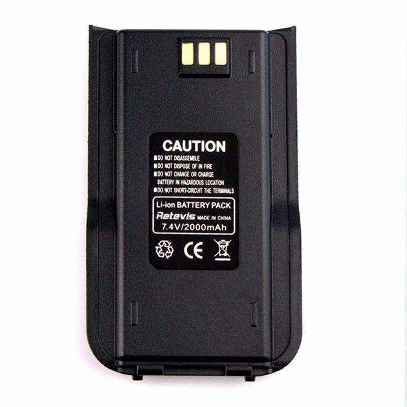 NEW Original Walkie Talkie Li-ion Radio Battery 2000mAh for TYT/Tytera MD-380 Retevis RT3 Two Way Radio