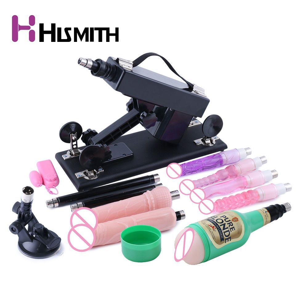 Hismith Automatische Sex Maschine Multi-geschwindigkeit Einstellbar Vibrator Masturbator Dildo Versenkbare Sex Maschine Gun Sex Spielzeug für Frauen
