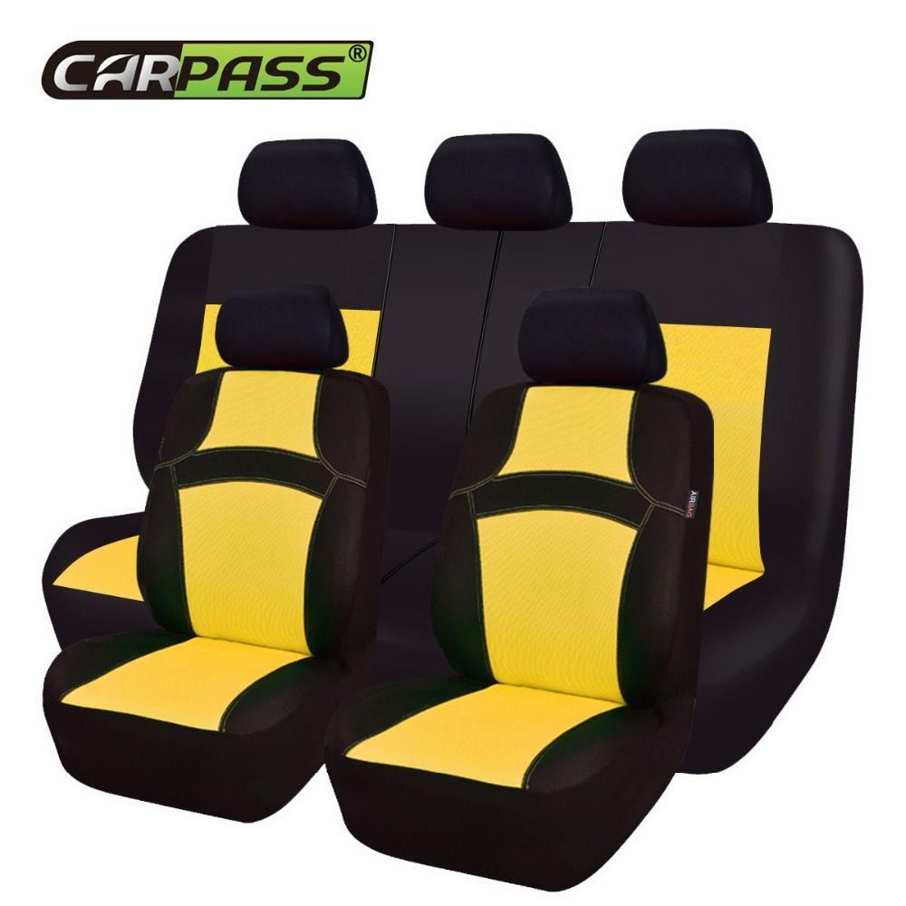 Couvre-siège auto universel arc-en-ciel pour voiture protection de siège automobile pour Toyota Corolla Lada VW
