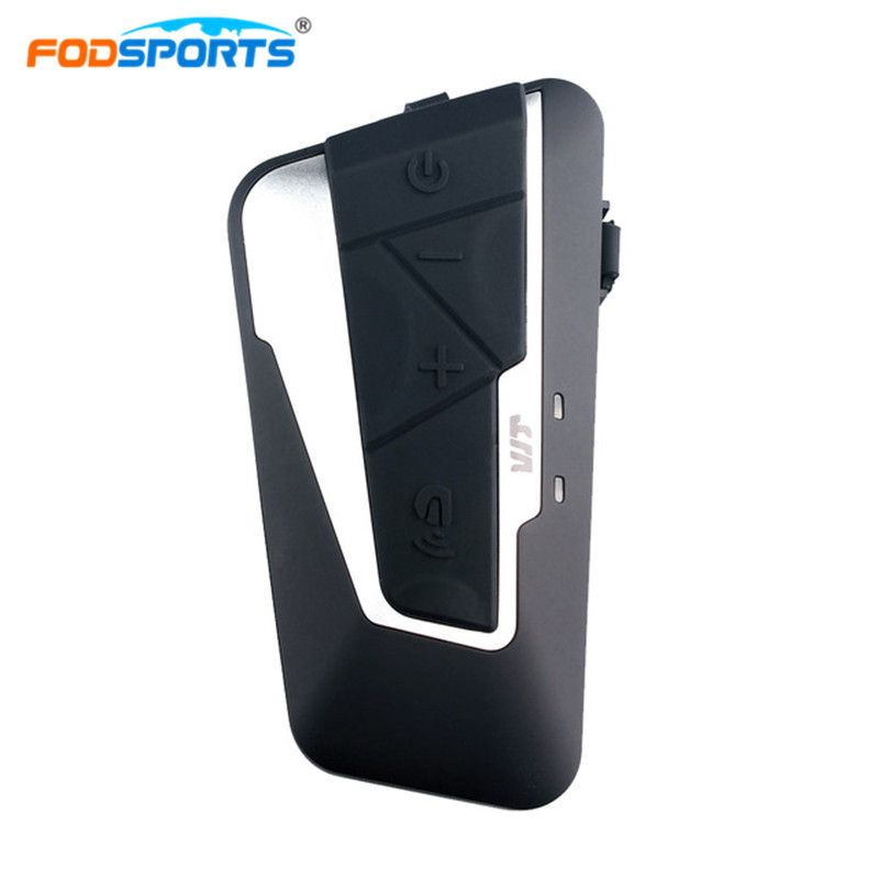 Fodsports T9S intercomunicador bluetooth para motocicleta  Motorcycle  intercom moto Interphone with FM Radio Stereo Music