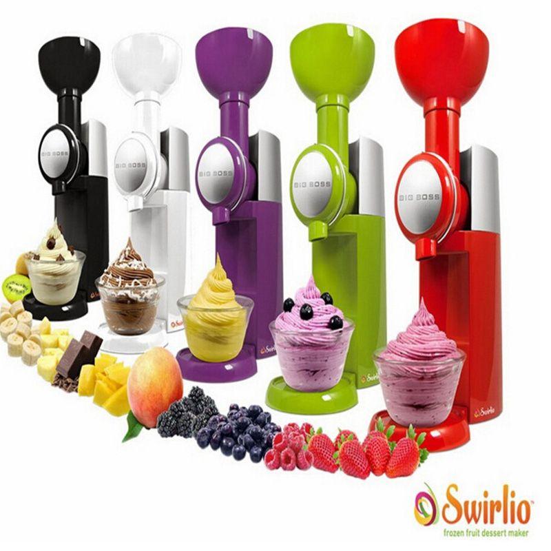 Big Boss Swirlio Frozen Fruit machine icecream home full automatic mini slush machine household ice cream maker