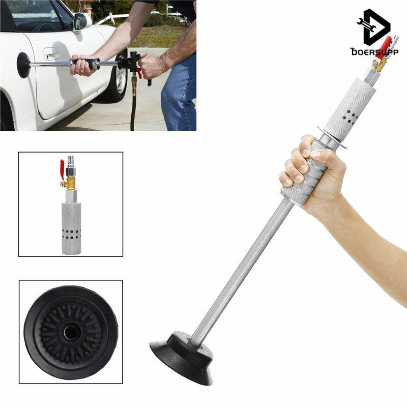 Doersupp Air Pneumatic Dent Puller Car Auto Body Repair Suction Cup Slide Hammer Tool Kit Slide Hammer Tools