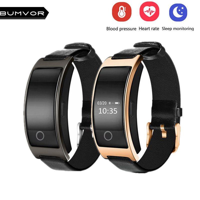 BINZI CK11S Wristband Blood Pressure Watch Blood Oxygen Heart Rate Monitor Smart Bracelet Pedometer IP67 Waterproof Smartband