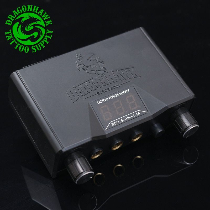 High Quality Lcd Dual Tattoo Machine Gun Power Supply Power Box
